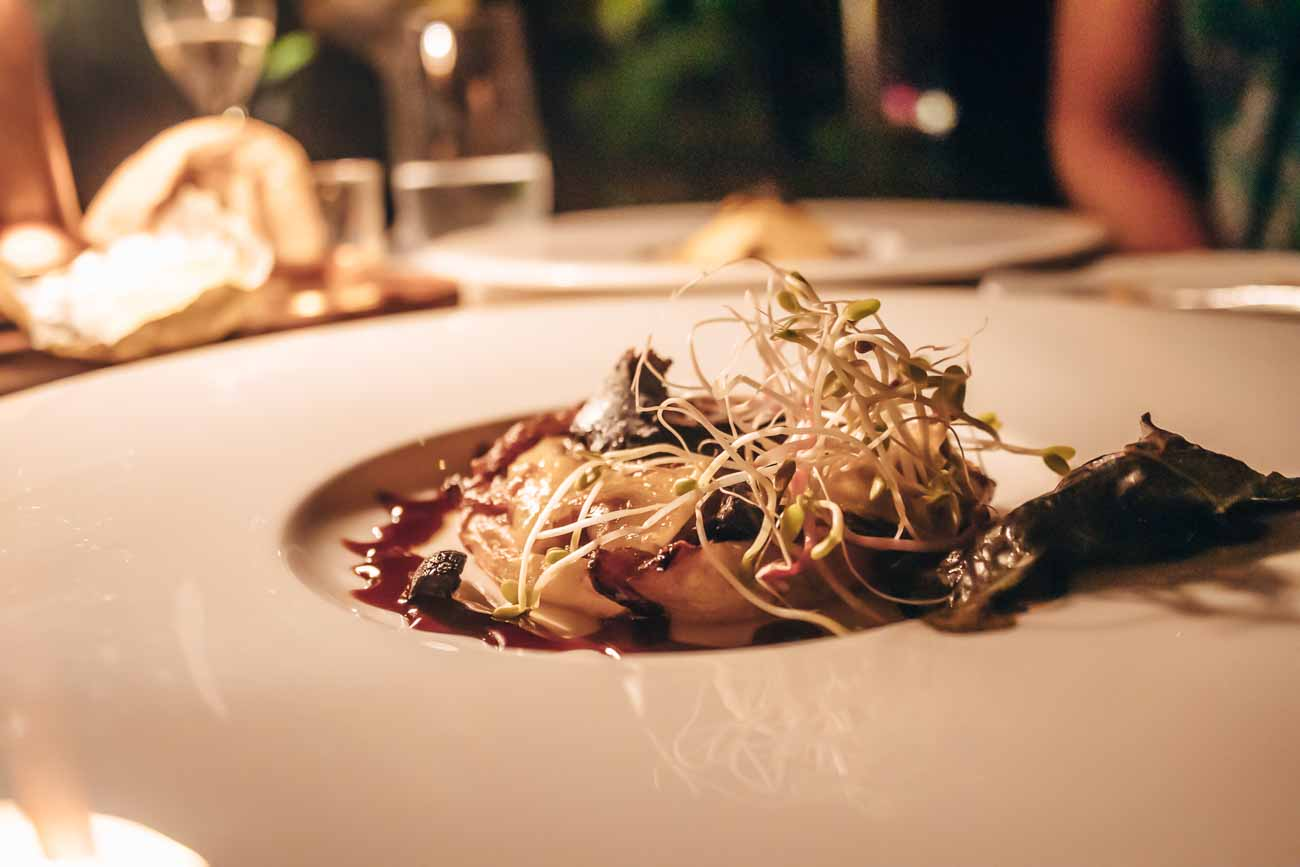Sofitel Moorea K restaurant