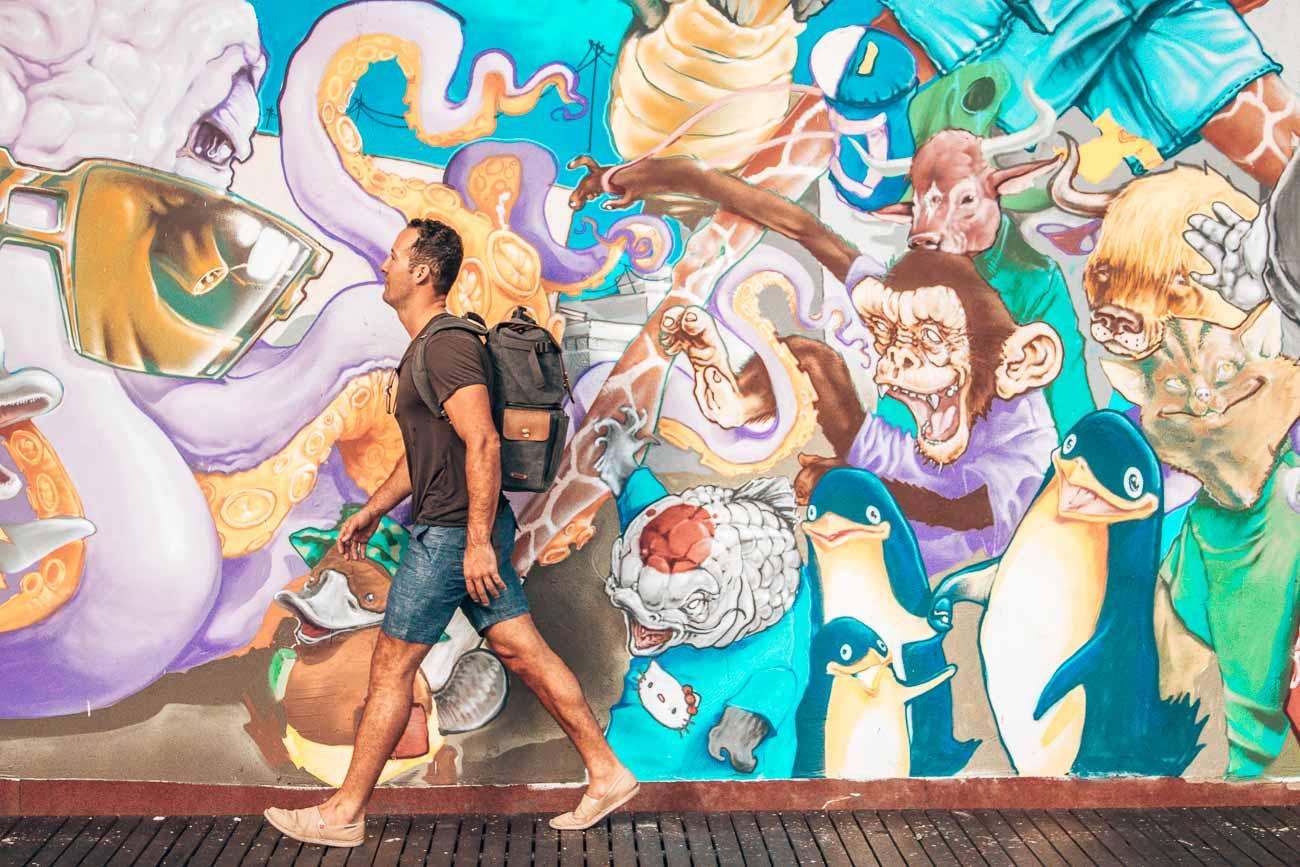 Papeete Graffiti Wall