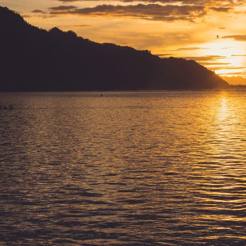 Hilton Moorea sunset