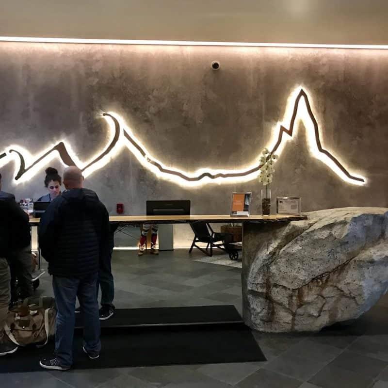 whitney peak reno lobby