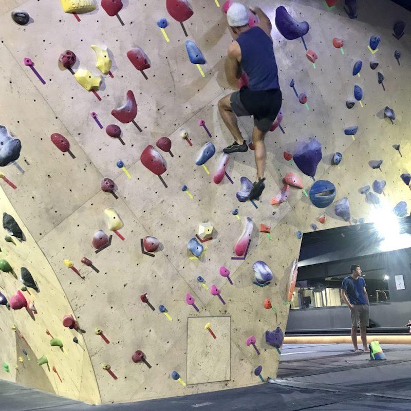 whitney peak reno climbing wall