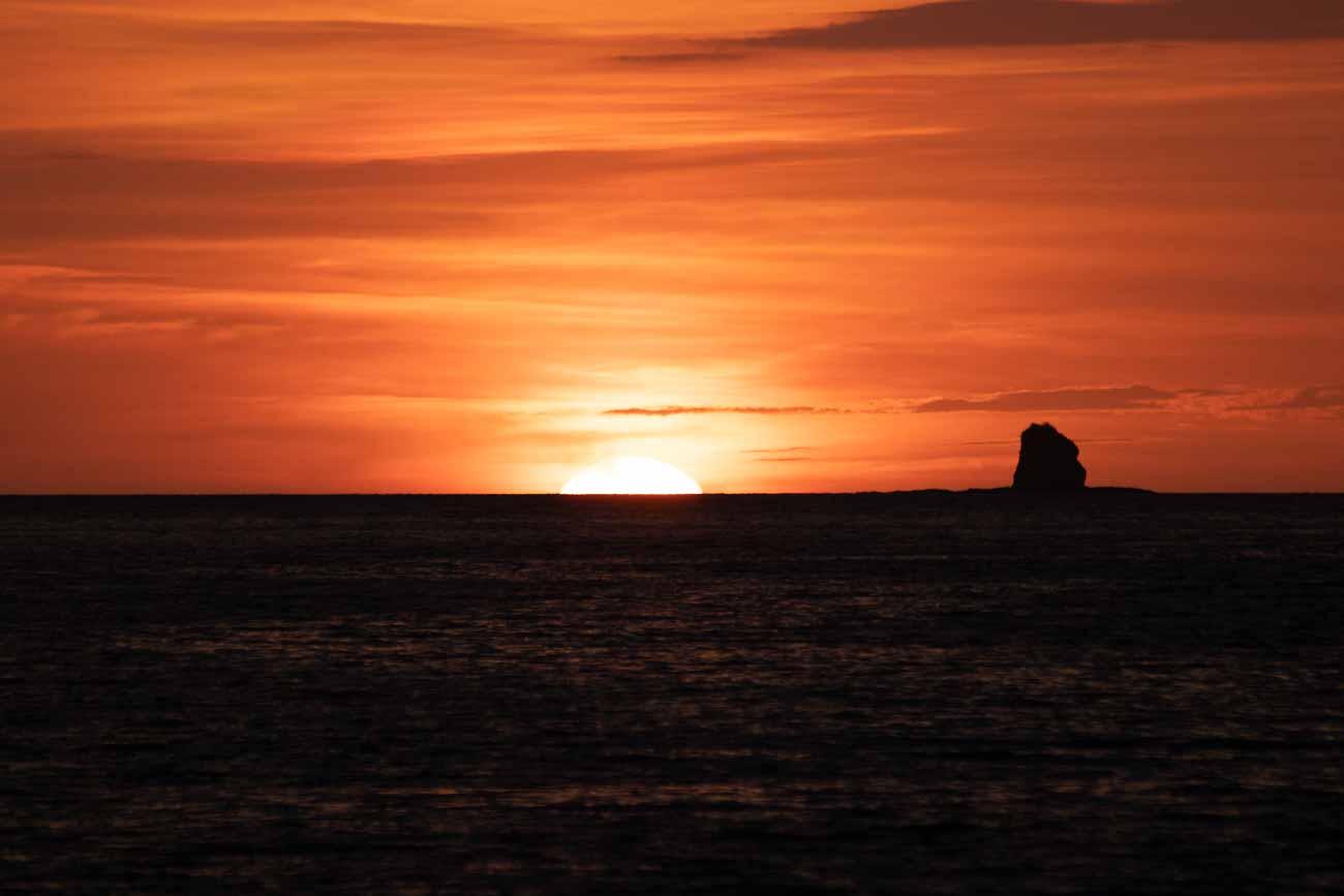el mangroove costa rica sunset