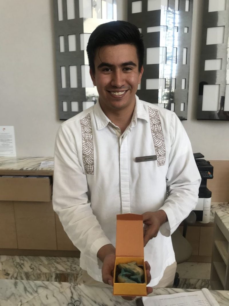 Le Blanc Spa Resort Cabo departure gift