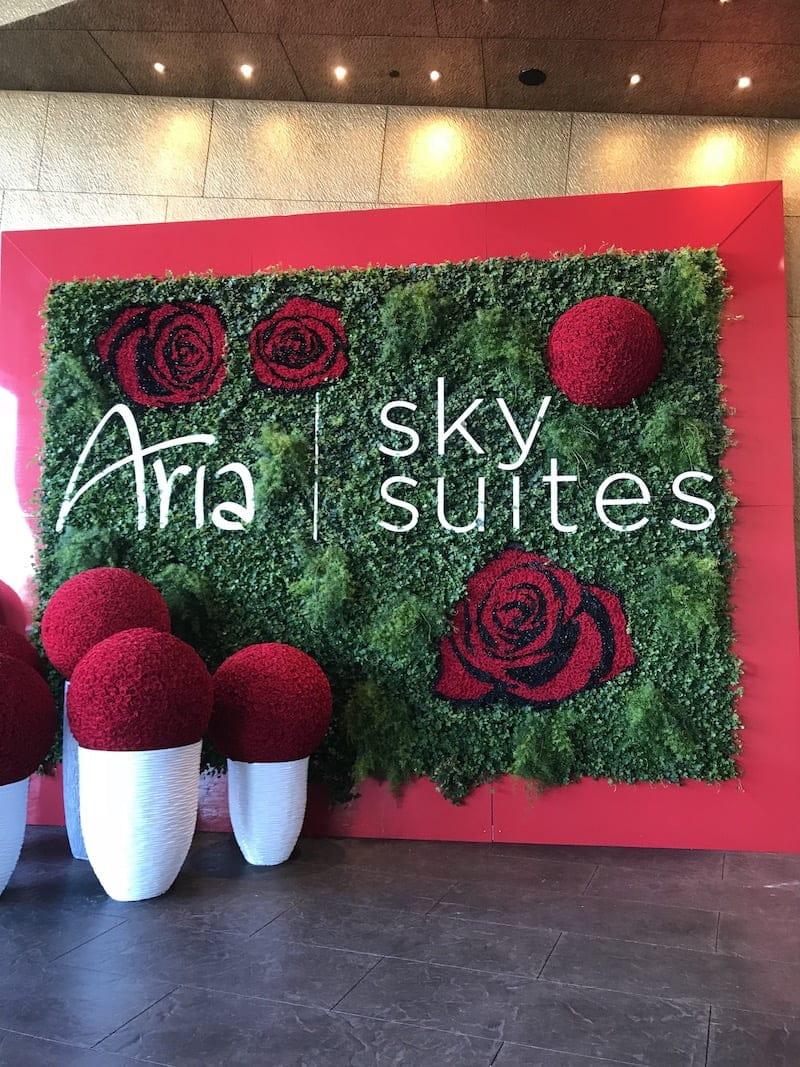 arrival aria sky suites las vegas