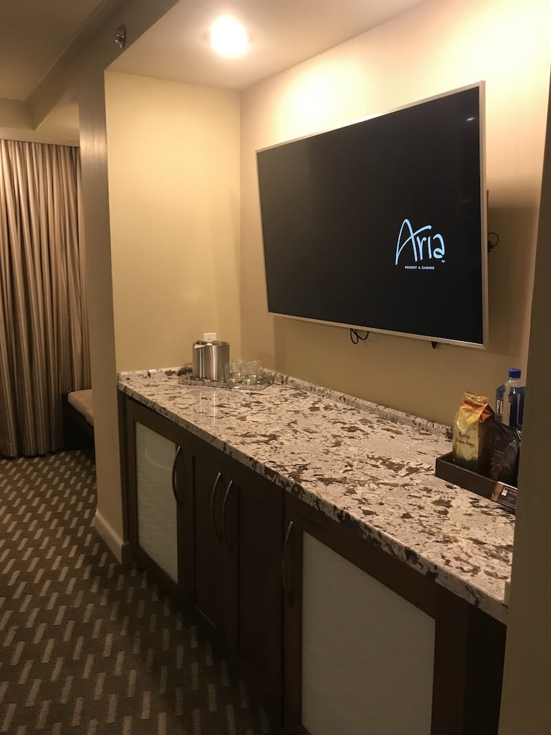 Aria Tower Suite - Center View