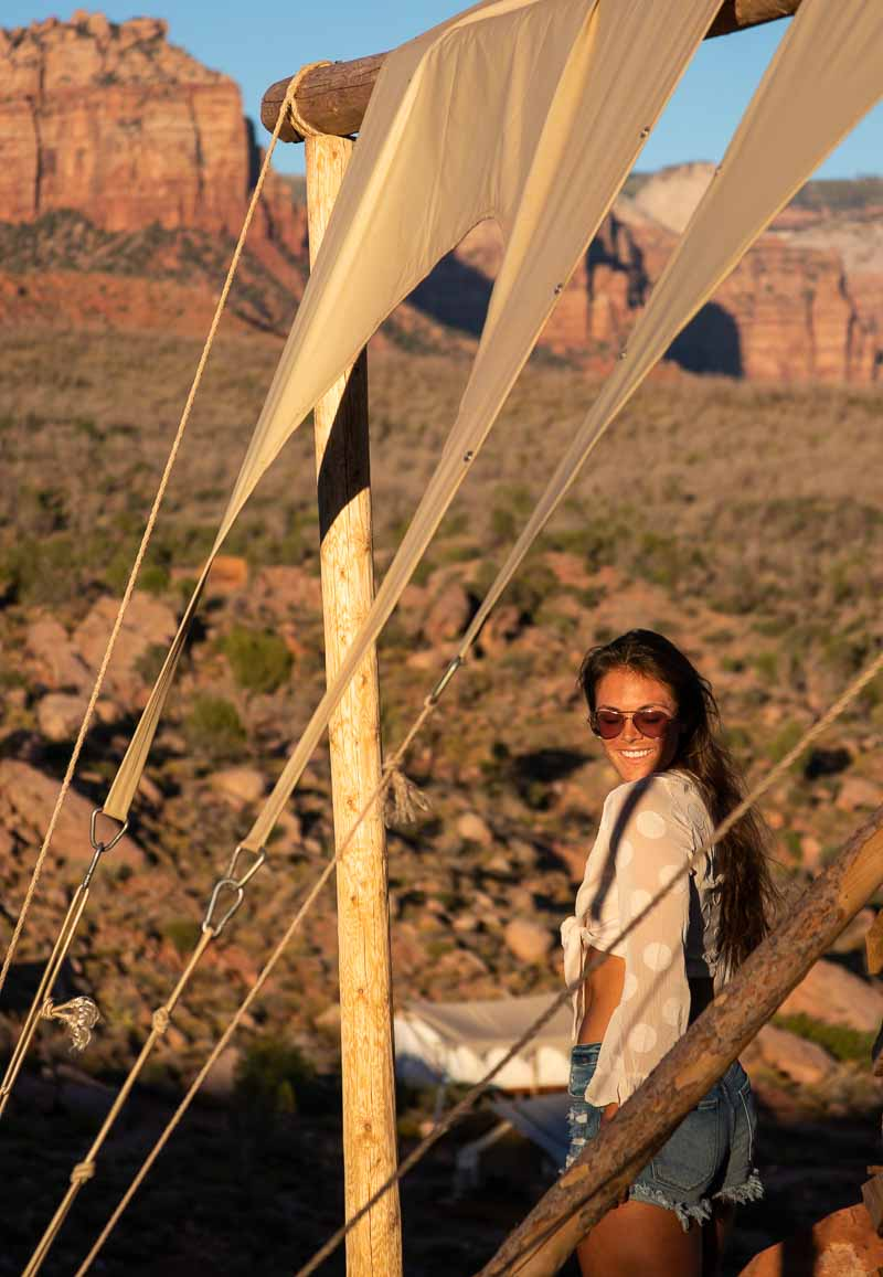 tent under canvas zion