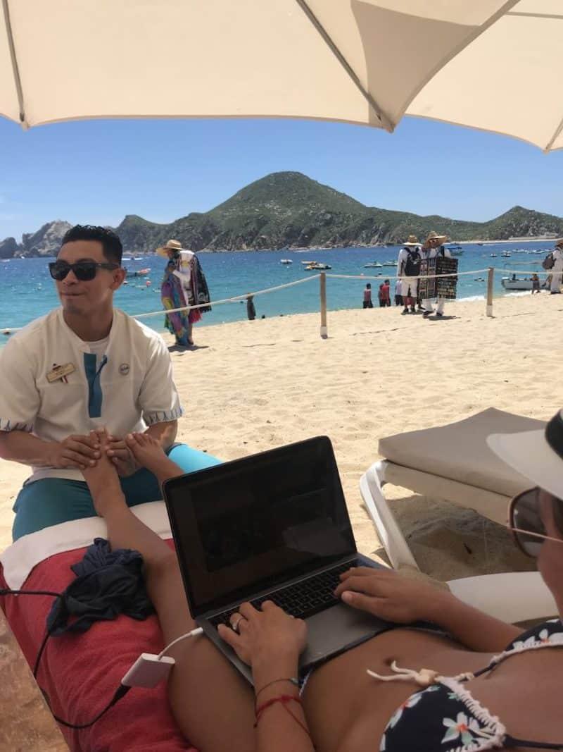 Casa Dorada Cabo beach
