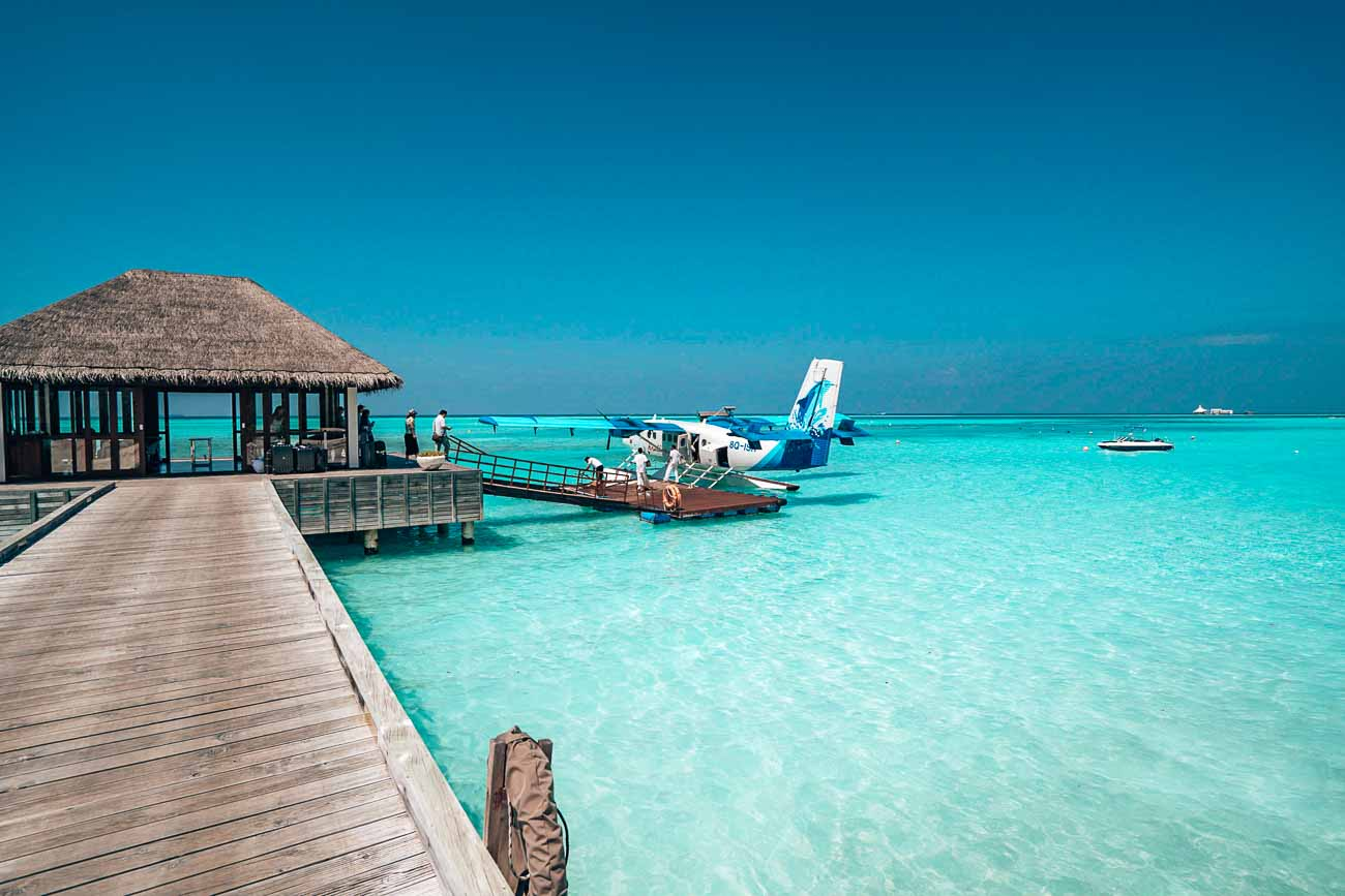 arrival at niyama maldives