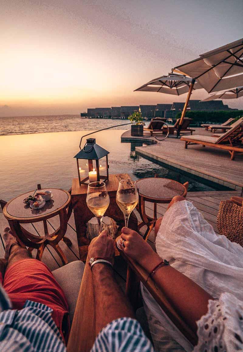cocktails milaidhoo maldives