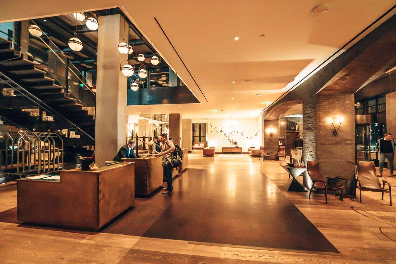 lobby kimpton van zandt austin