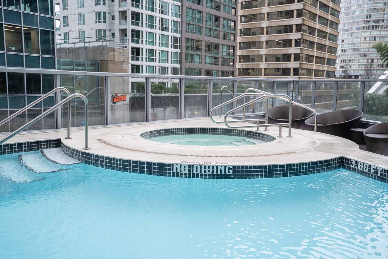 pool at shangri-la vancouver