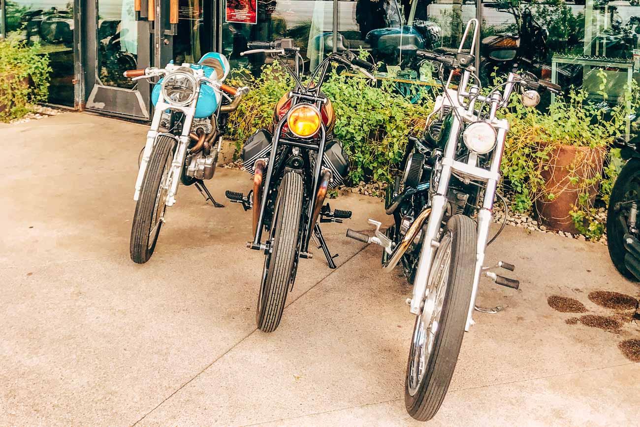 Bikes in Austin