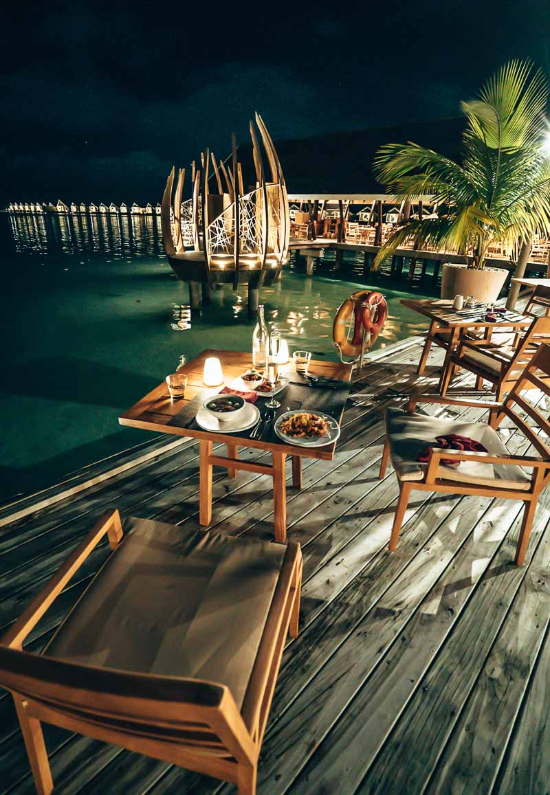 dining at lux south ari