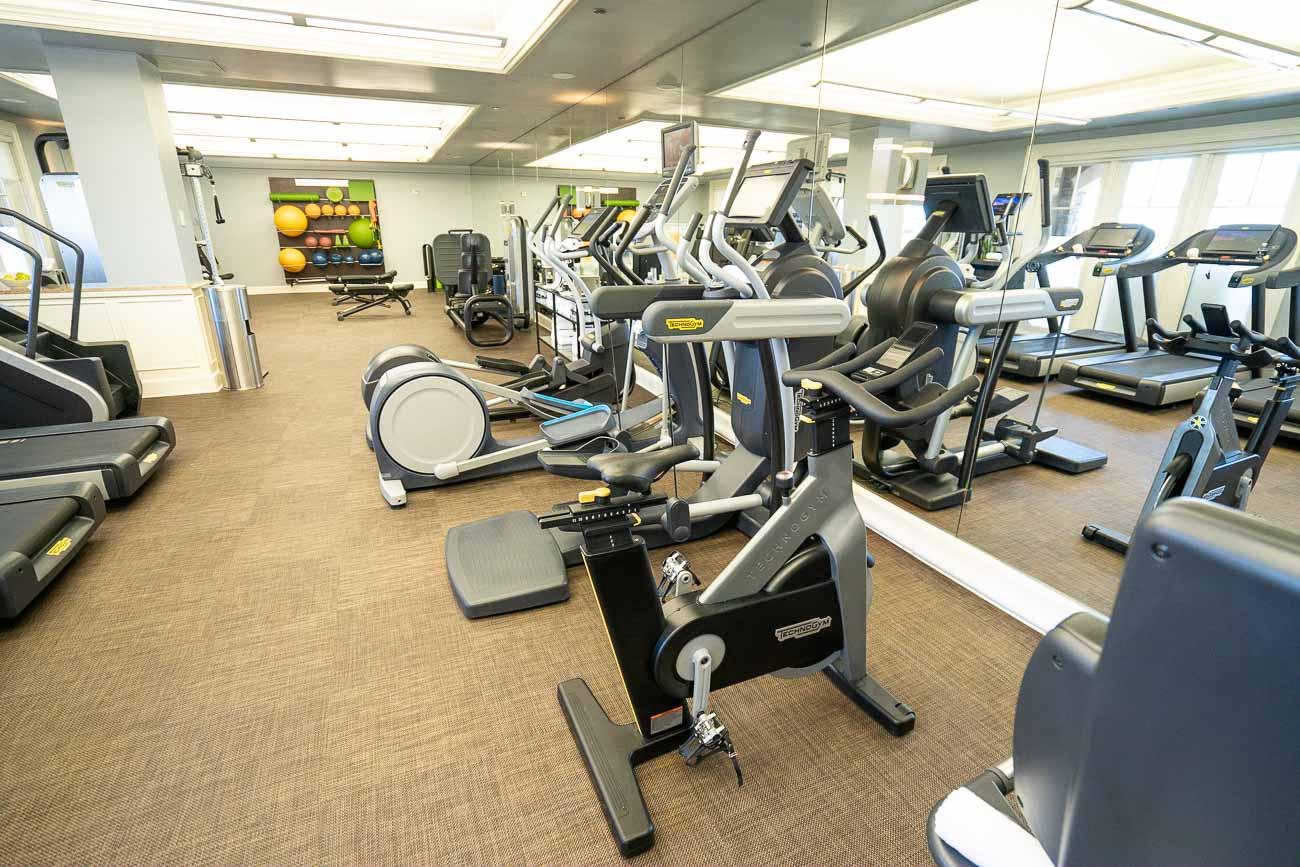 fitness center ritz carlton half moon bay