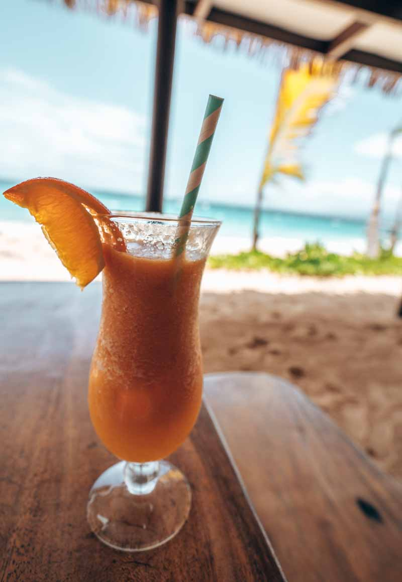 dining at serenity island fiji