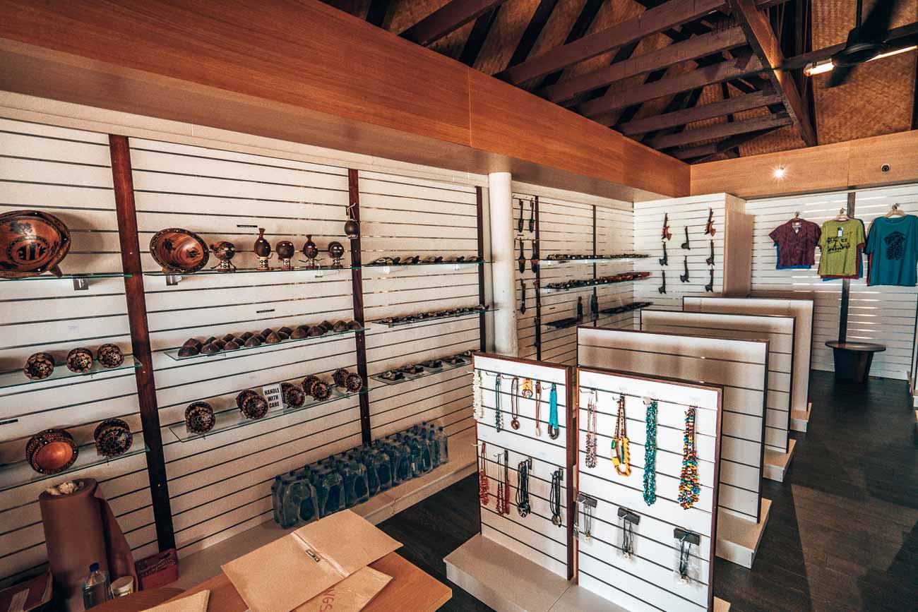 gift shop serenity island fiji