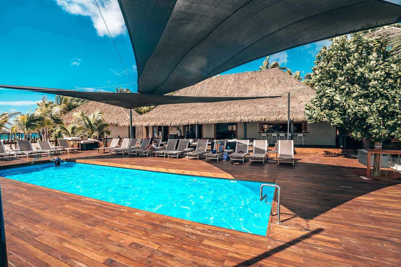 pool at serenity island fiji