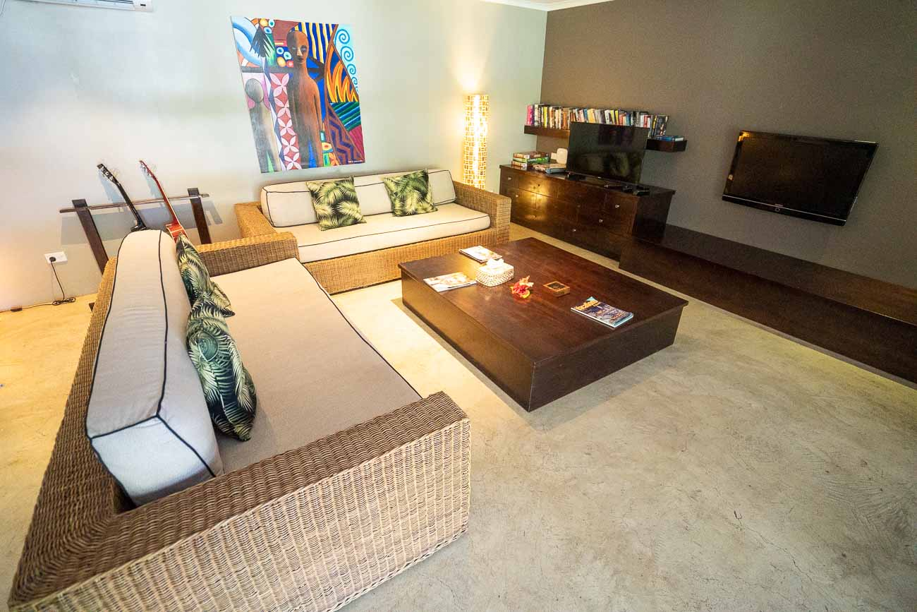 lounge area Yasawa Island Resort