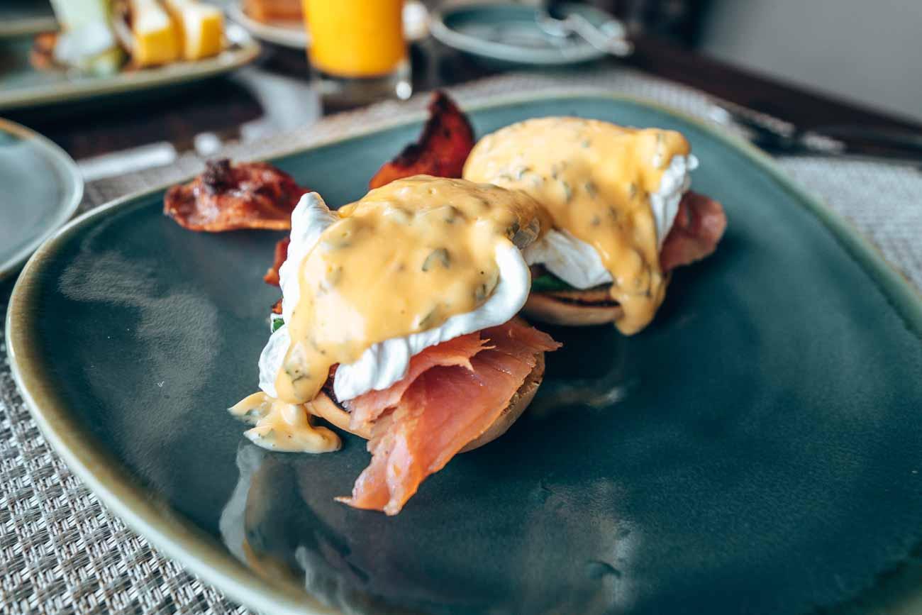 breakfast Yasawa Island Resort