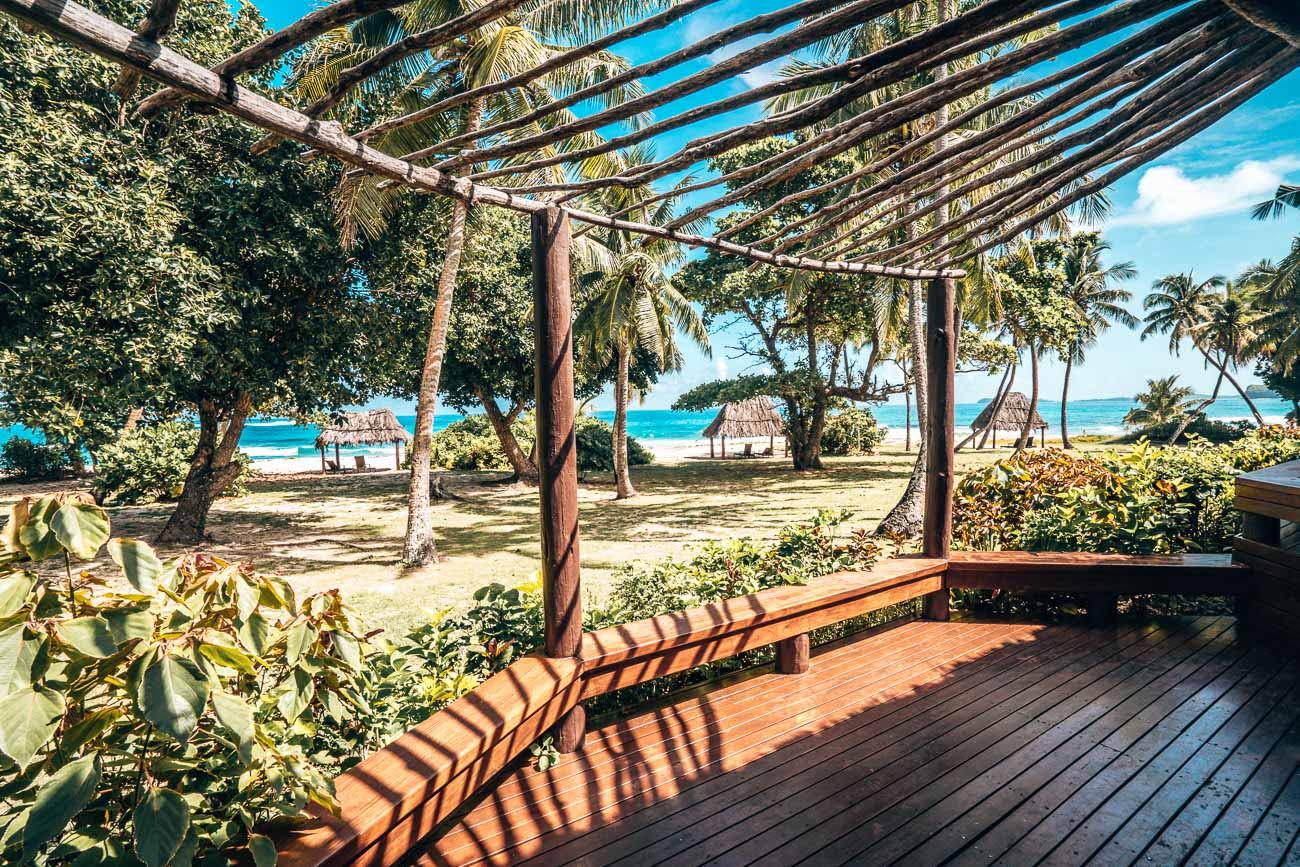 beachfront bure yasawa island resort