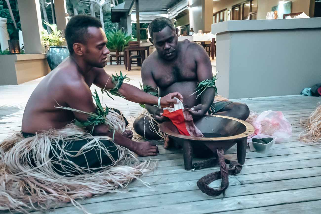 kava ceremony Yasawa Island Resort