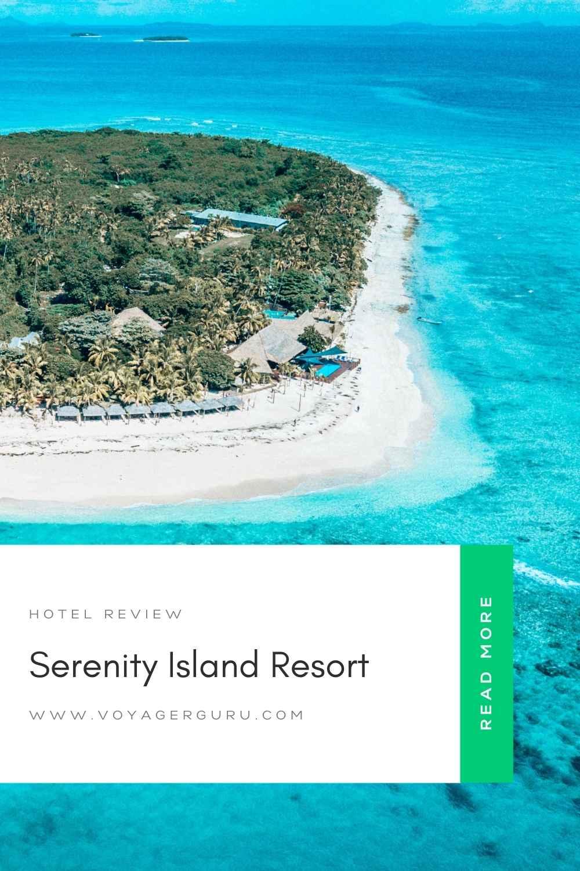 serenity island resort fiji pin 1