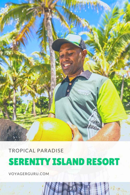 serenity island resort fiji pin 3