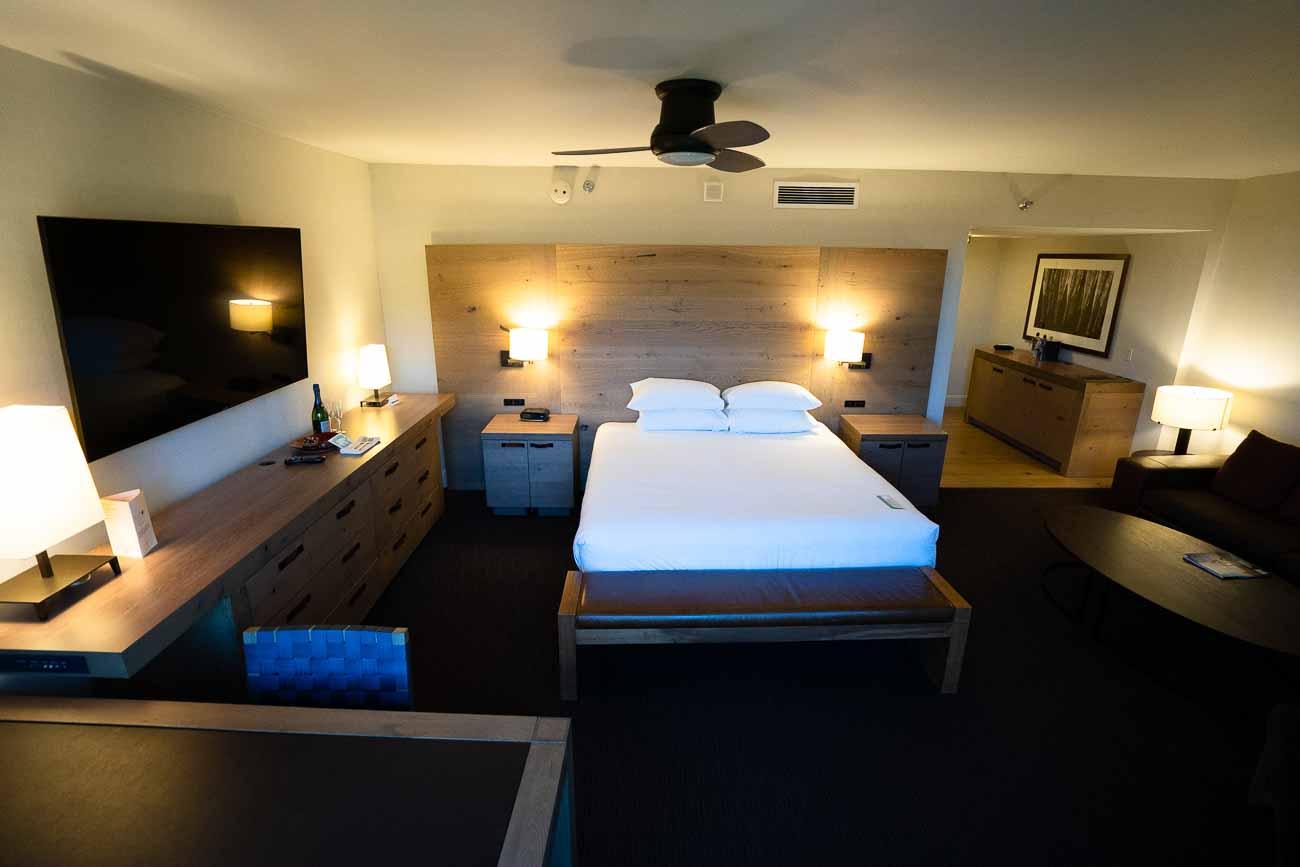 Hyatt Regency Lake Tahoe junior suite