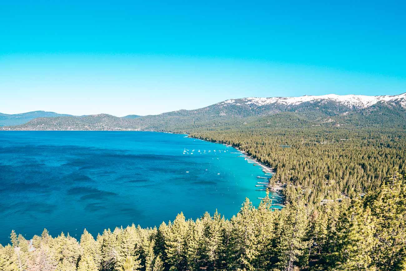 North Lake Tahoe Monkey Rock Hike