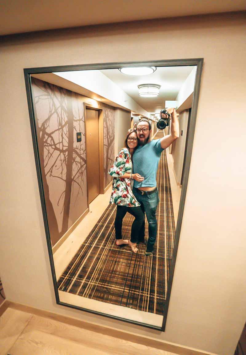 hallway Hyatt Regency Lake Tahoe