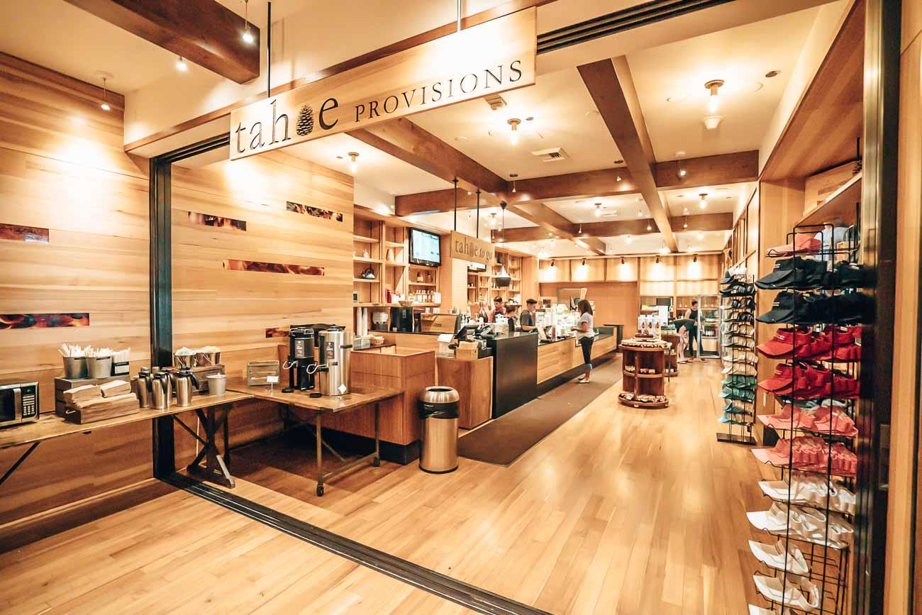 tahoe provisions at Hyatt Regency Lake Tahoe