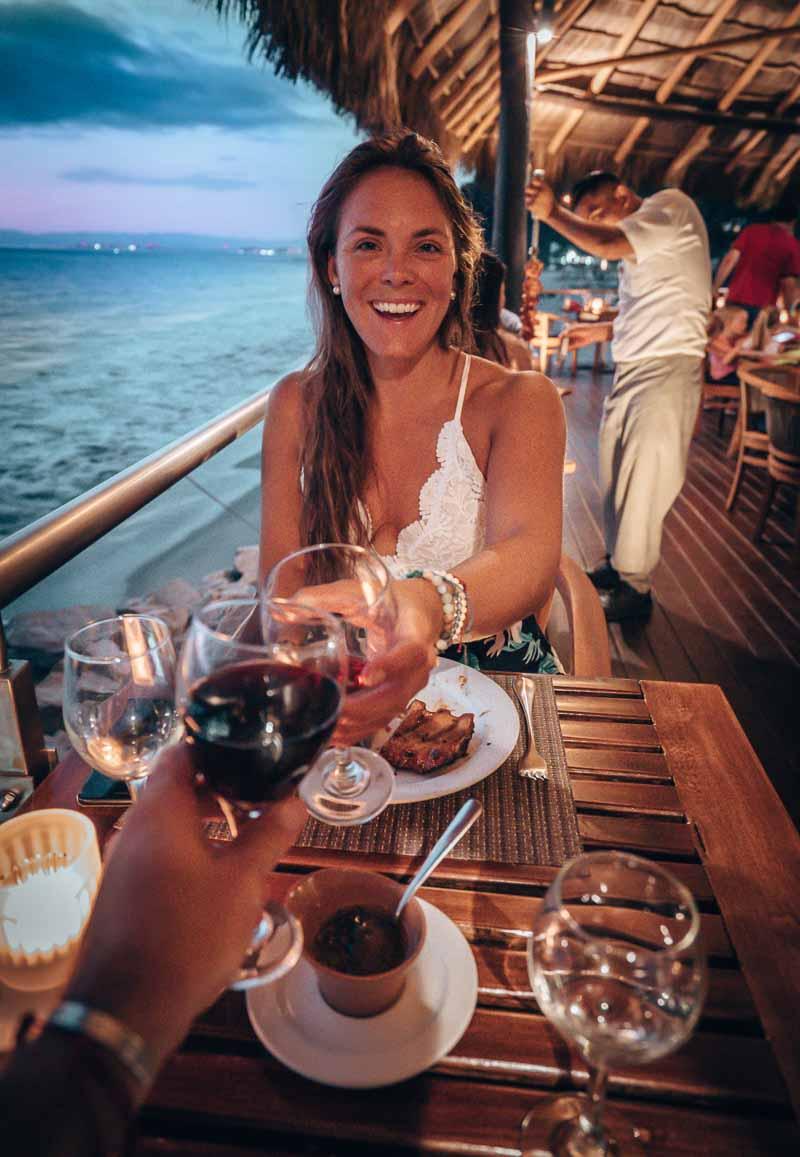 dining at hyatt ziva puerto vallarta