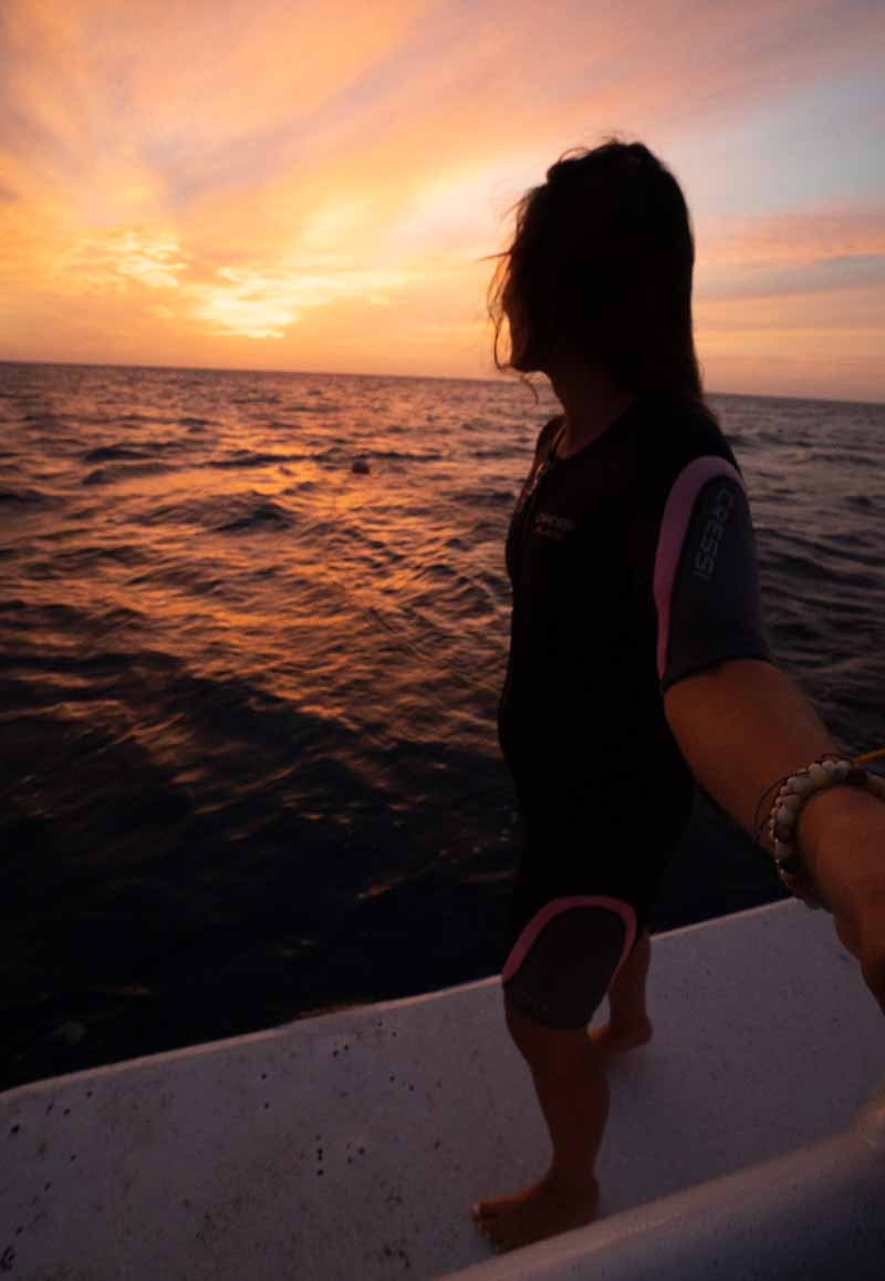 Sunset Dive at Marriott Stellaris Aruba