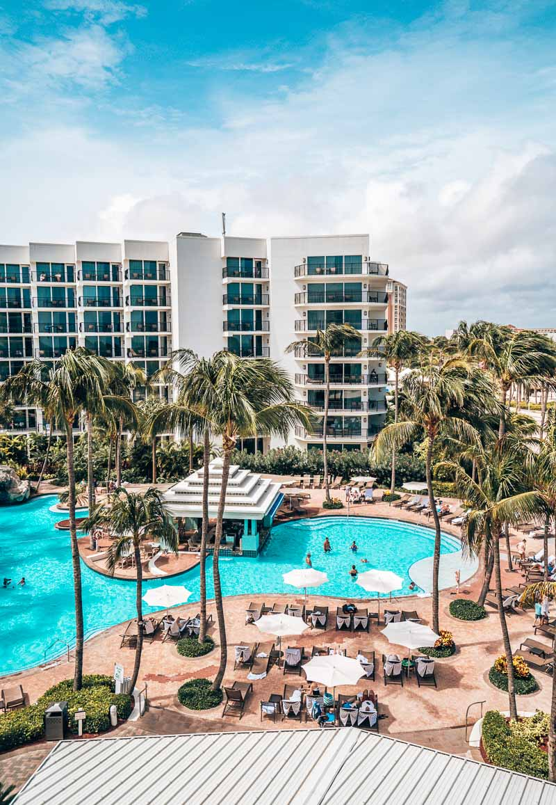 Junior Suite View Marriott Stellaris Aruba