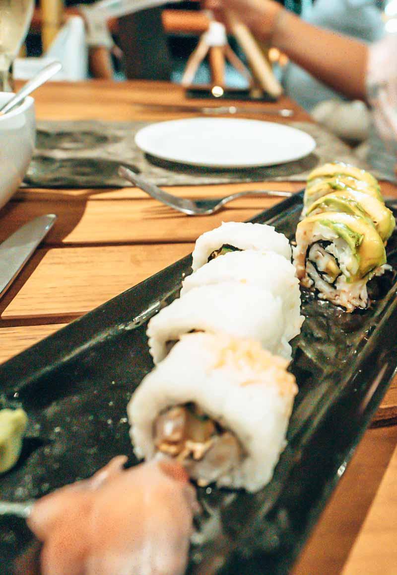 hyatt ziva puerto vallarta dining sushi