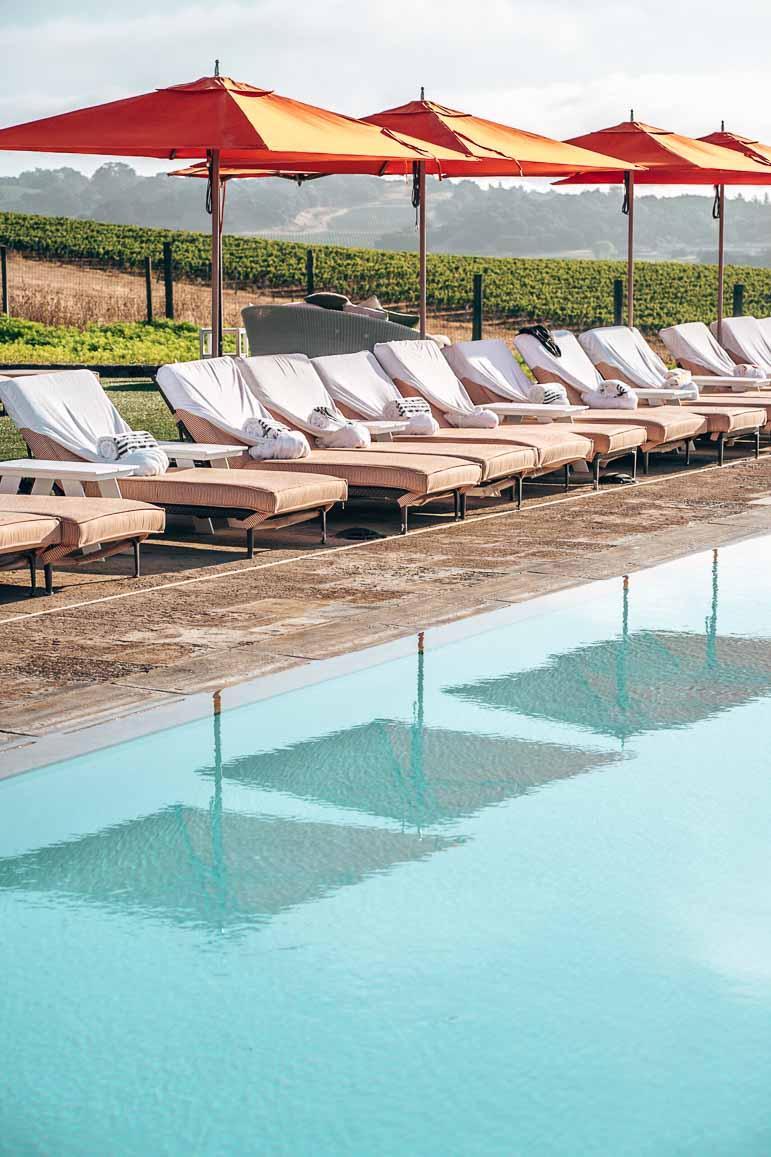 pool at carneros resort napa