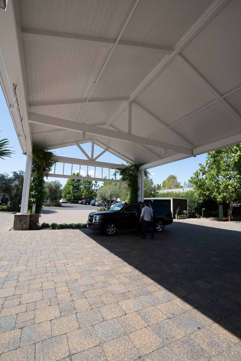 lobby at carneros resort napa