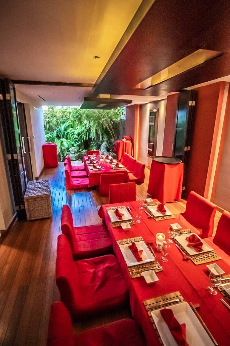 Japanese Restaurant at Barcelo Aruba