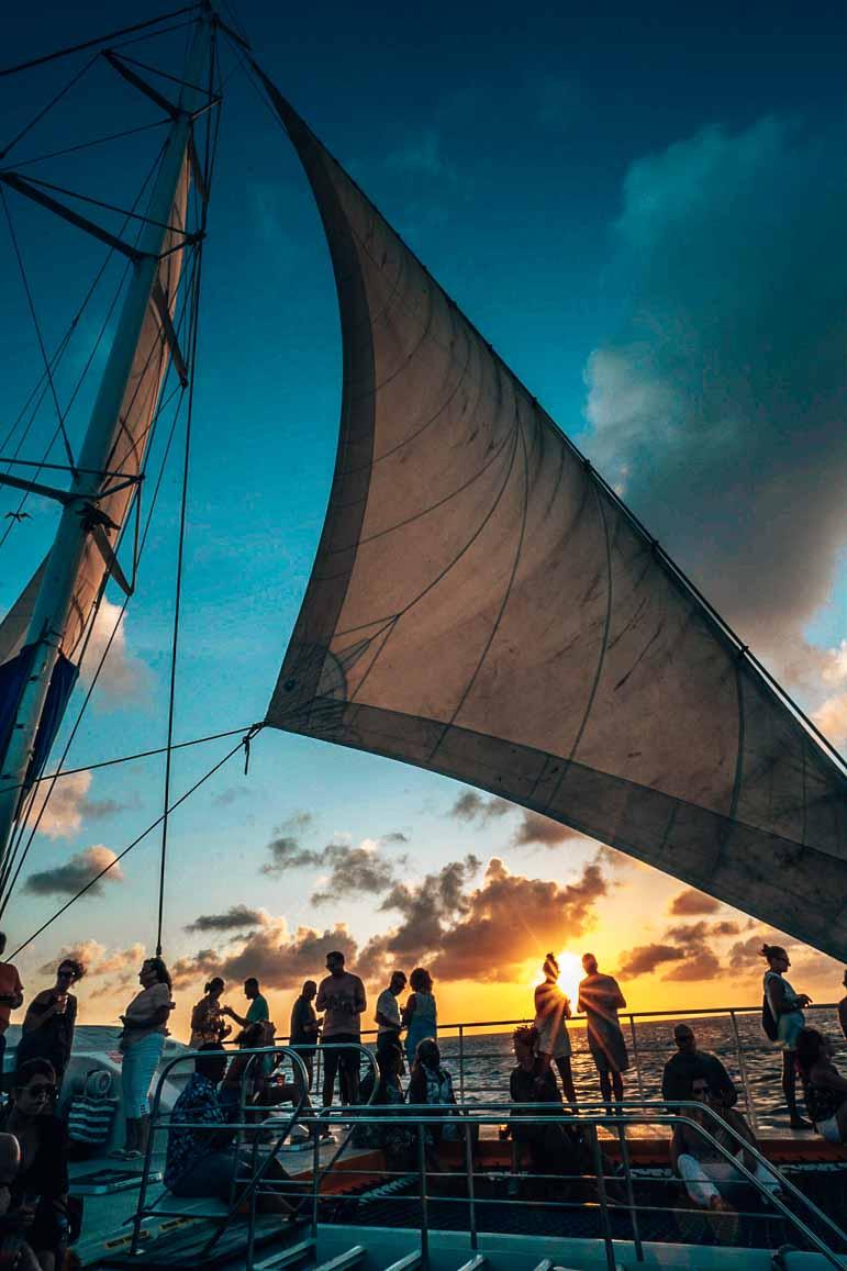 Sunset Cruise Barcelo Aruba