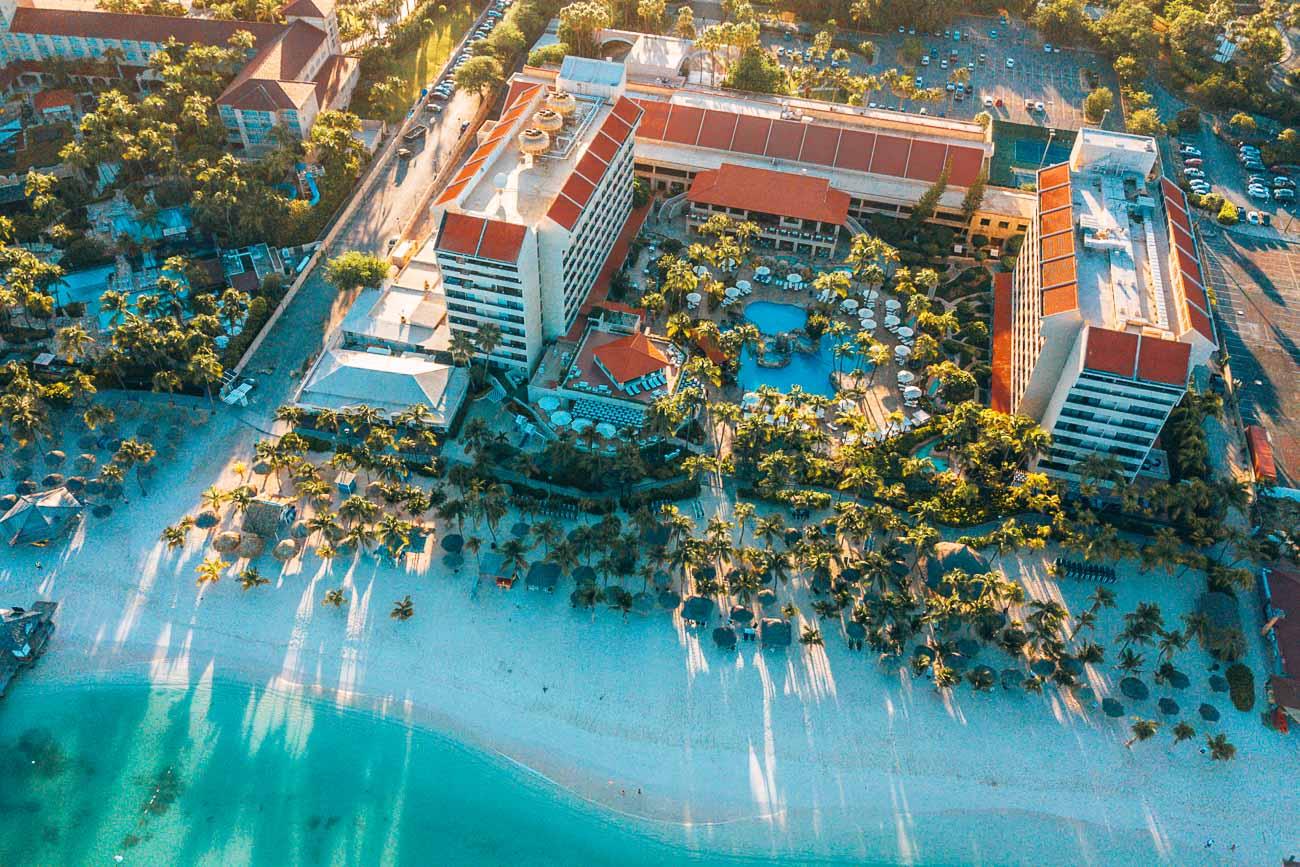 View from Barcelo Aruba