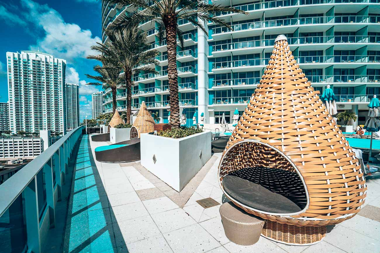 Pool at Epic Miami