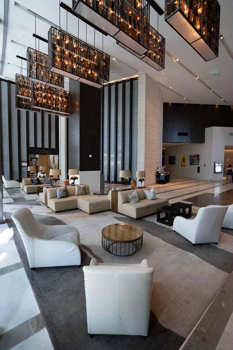 Lobby at Epic Kimpton Miami