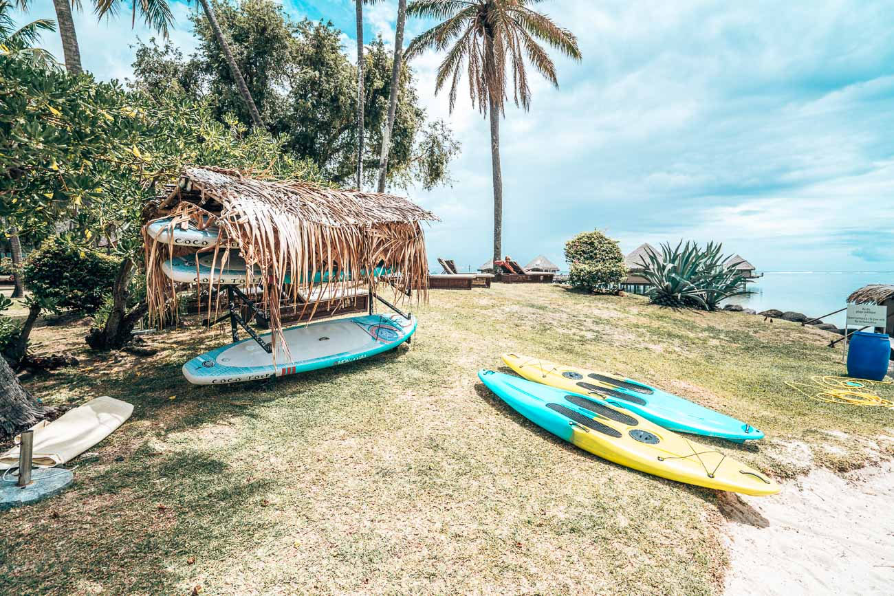 facilities at Tahiti Ia Ora Beach Resort