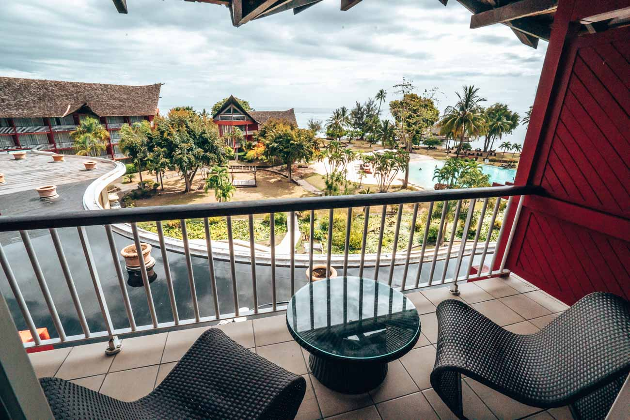 Panoramic View Room at Tahiti Ia Ora Beach Resort