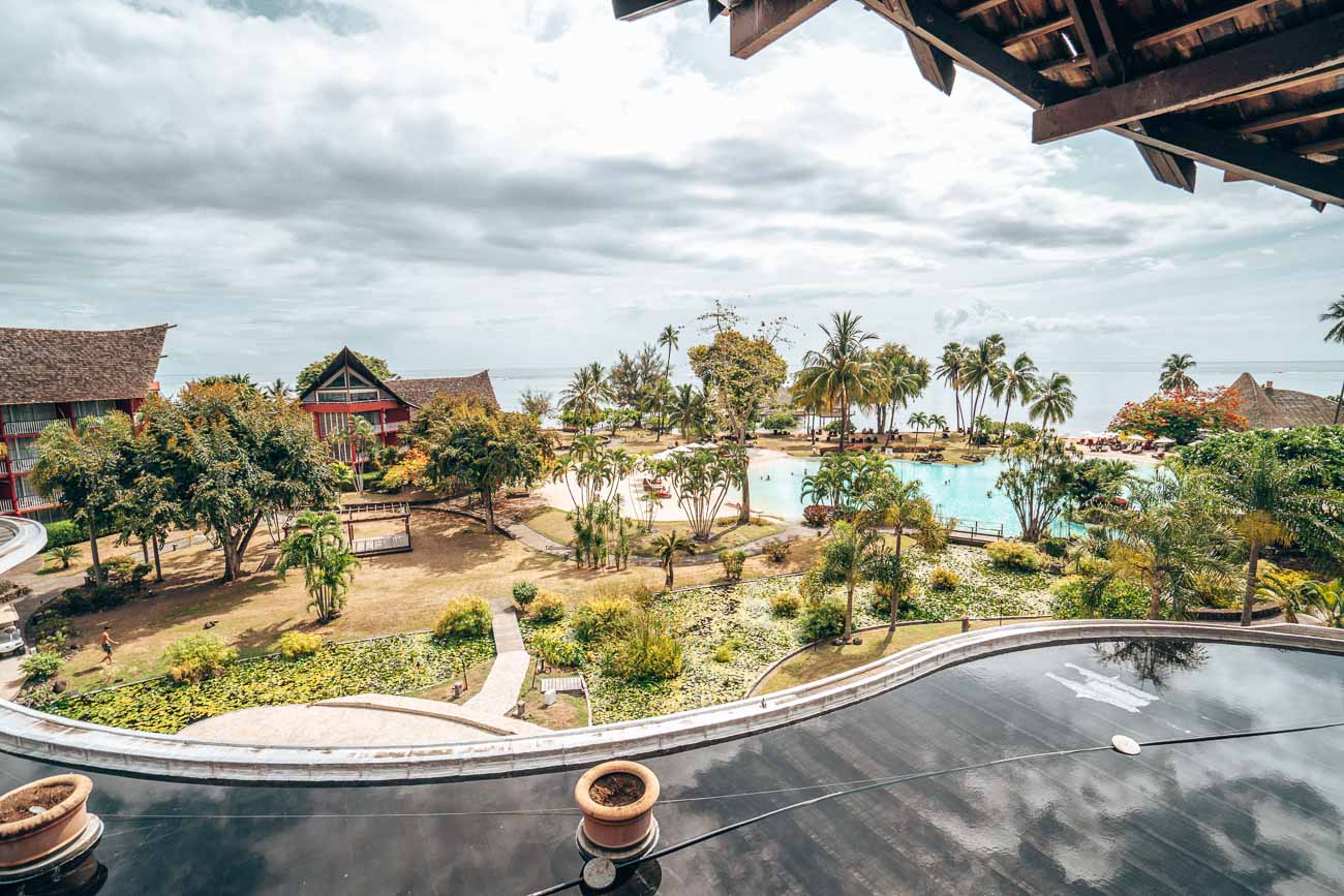 view from Panoramic View Room at Tahiti Ia Ora Beach Resort