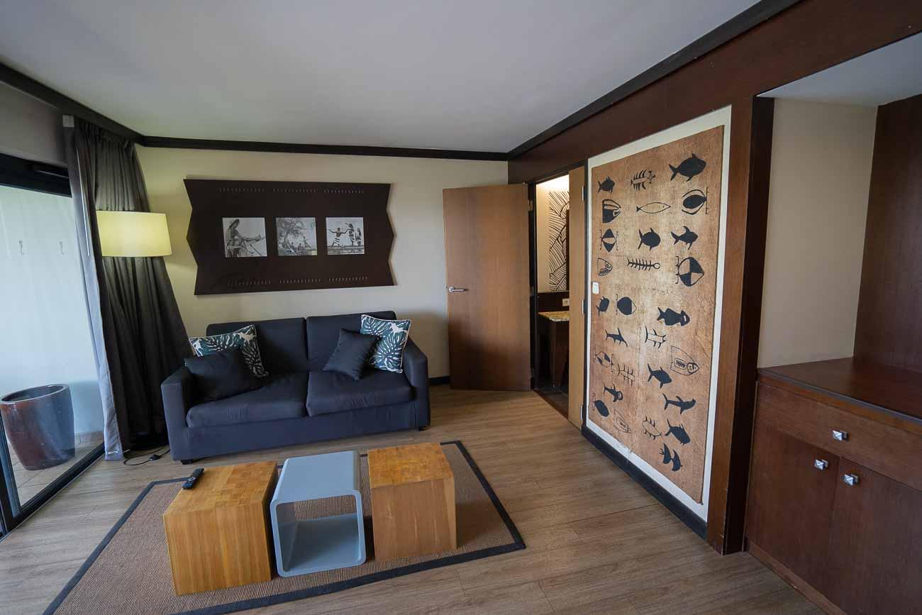 oceanfront one bedroom tahiti pearl beach resort