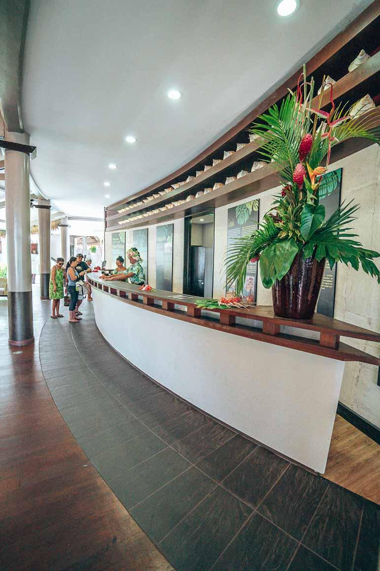 lobby tahiti pearl beach resort