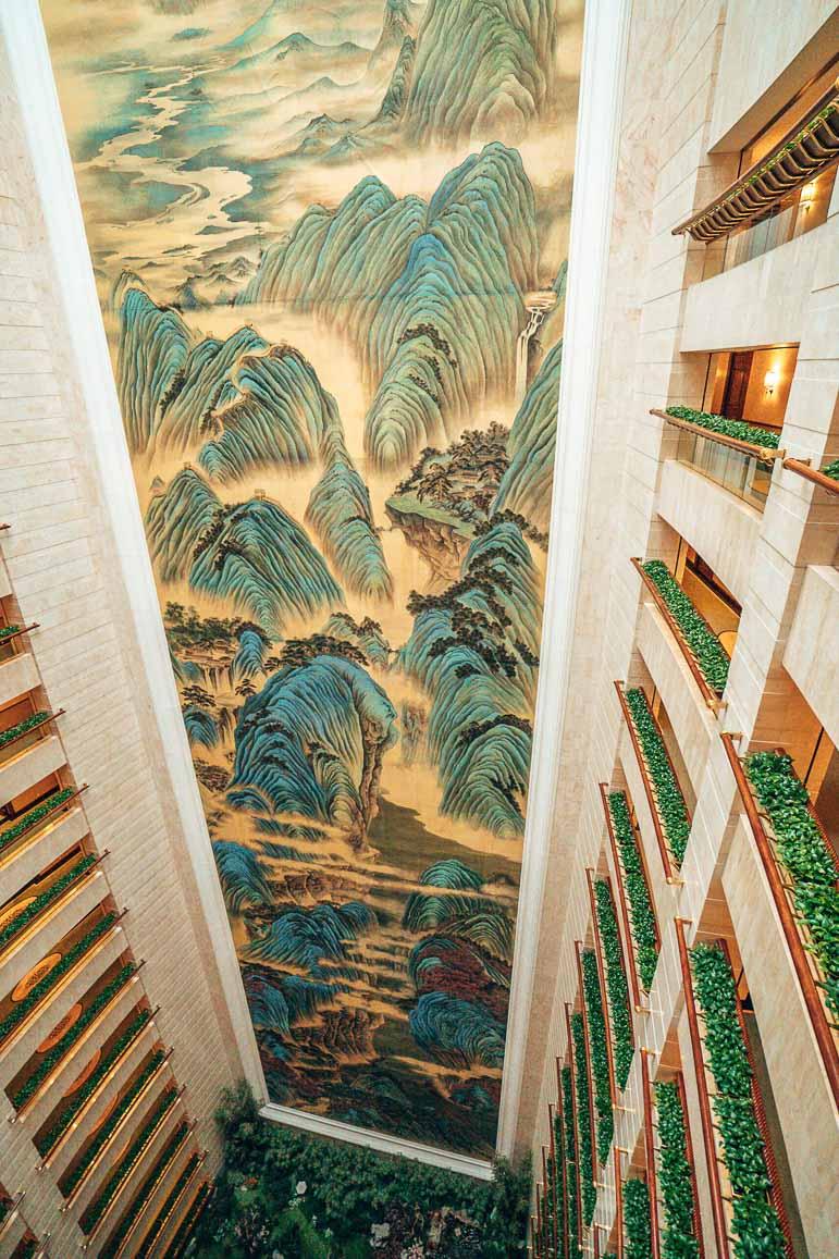 Elevator at Island Shangri-La