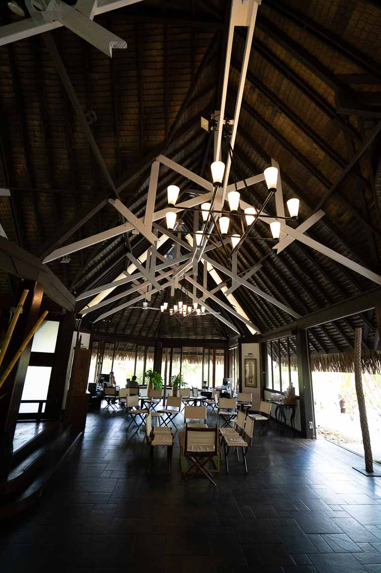 Lobby at Sofitel Moorea