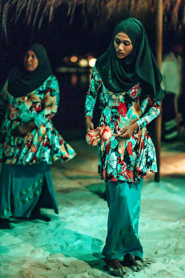 dinner show The Residence Maldives